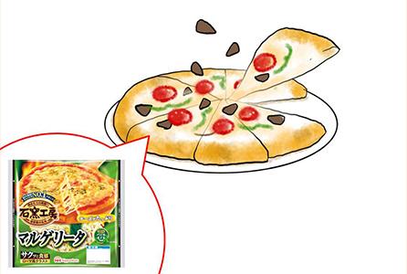 にんにくピザ