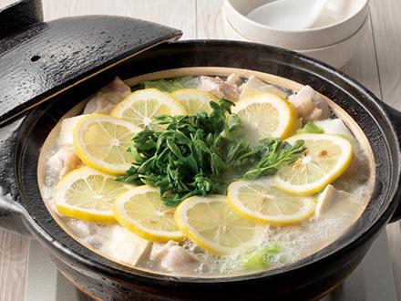 匠の鶏塩レモン鍋