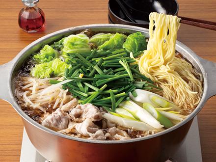 白菜&豚肉スタミナラーメン鍋