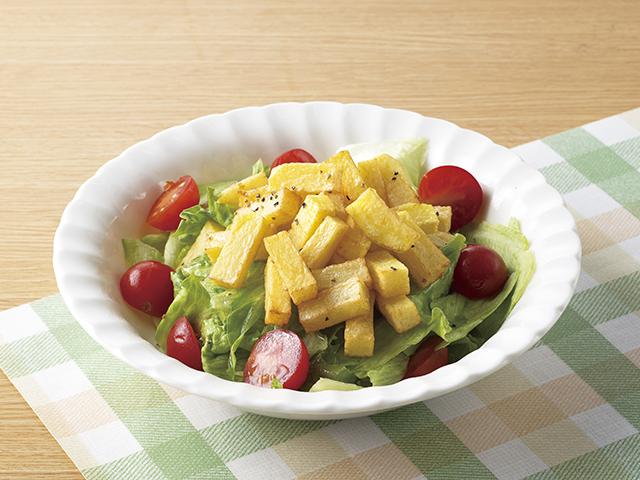 フライドポテトサラダの完成写真