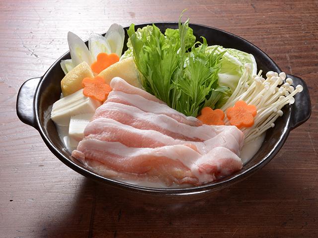 豆乳鍋の〆はこまぜ術で担々麺風の完成写真