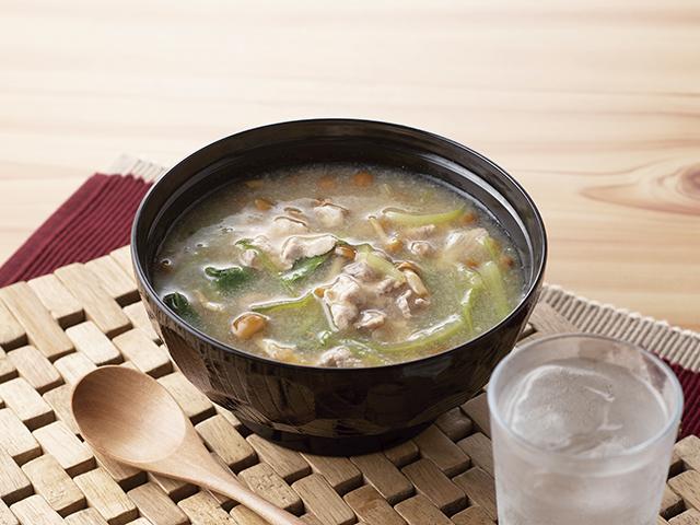 おろしポン酢スープの完成写真
