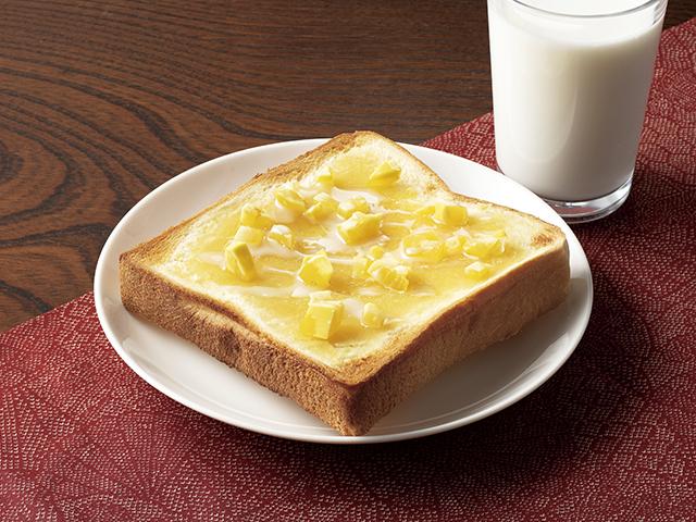 栗きんとんトーストの完成写真
