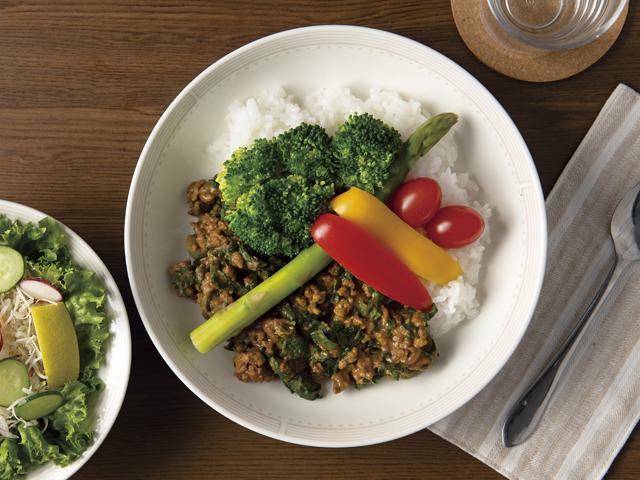 野菜たっぷりカレーの完成写真