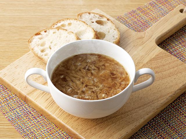 お手軽オニオンスープの完成写真