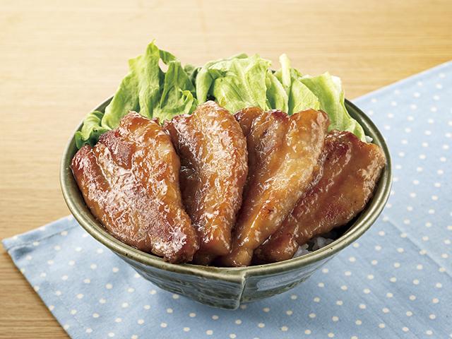 がっつり豚丼の完成写真